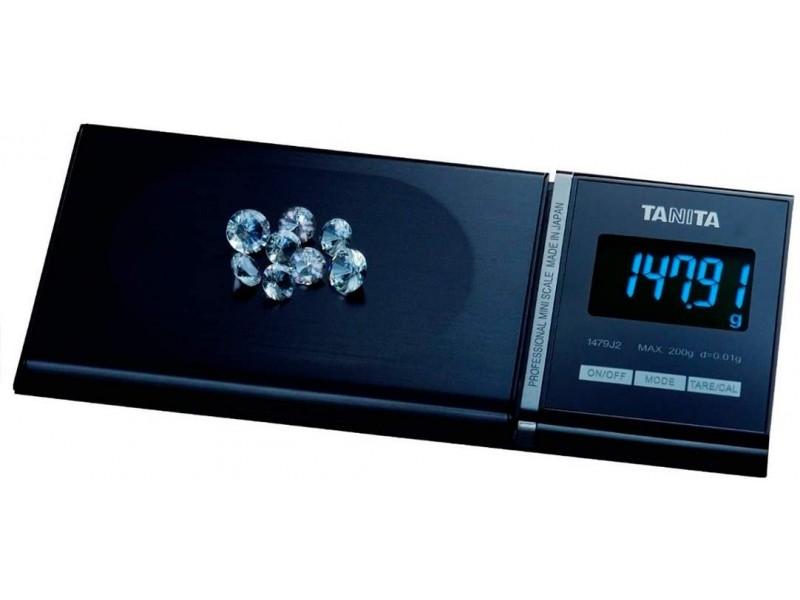 TANITA 1479J2 - Mini Báscula Profesional de Precisión Digital